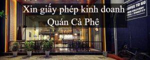 Xin Giay Phep Kinh Doanh Quan Ca Phe